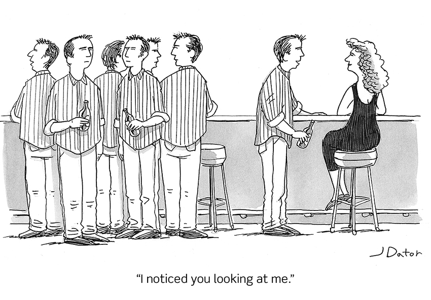 I noticed you looking at me by Joe Dator: I noticed you looking at me