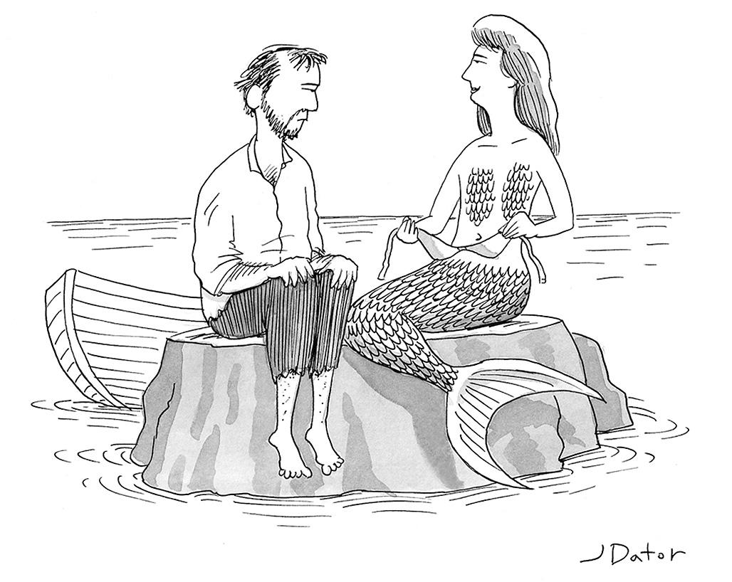 by Joe Dator: Mermaid