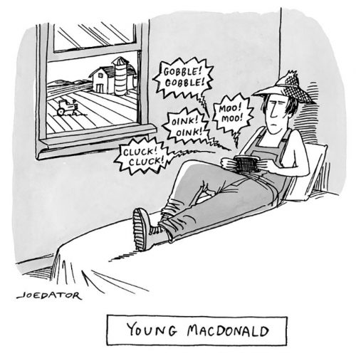 by Joe Dator: Young MacDonald